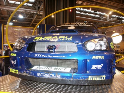 Subaru Impreza Rally Car : click to zoom picture.